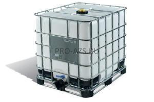 Еврокуб 1000 литров, технический , чистый , широкая горловина