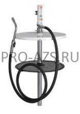 Комплект для смазки с насосом РМ2 1:1 для бочек 205 л, 3,2 кг/мин