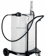 Мобильный маслораздатчик для бочек 205 л с насосом PM3
