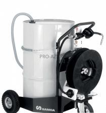 Мобильный маслораздатчик для бочек 205 литров с катушкой