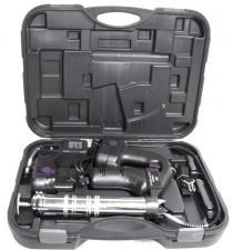 Насос для консистентной смазки с питанием от аккумуляторов 18 В. Для стандартных смазочных патронов