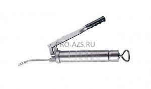 Шприц для консистентной смазки объемом 500 см3 c резиновым шлангом