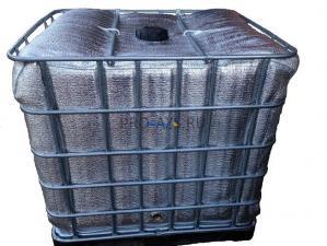 Еврокуб 1000 литров, Утепленный, Два подогрева