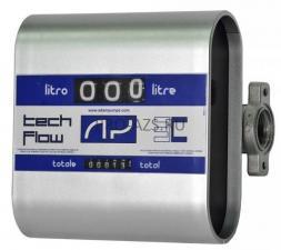 Счетчик механический TECH FLOW 3C для дизеля и масла