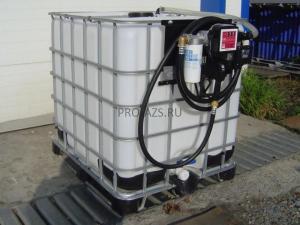 Мобильный топливный модуль для дизельного топлива