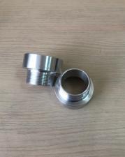Переходник с 60 мм (крупная резьба) на наружную резьбу 1 1/2 (алюминиевый)