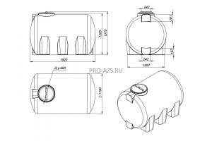 МТП Lite 2000 л. Cube 56 + Filter , 220 V