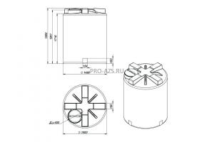 МТП Maxi 3000 л. Bi-Pump , 12/24 V