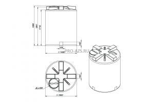 МТП Maxi 3000 л. Cube 56 + Filter , 220 V