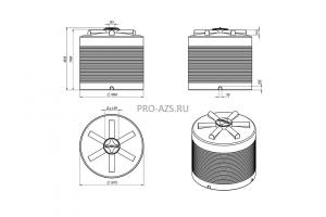 МТП Maxi 4500 л. Cube 90 , 220 V