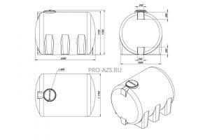 МТП Lite 5000 л. Bi-Pump , 12/24 V