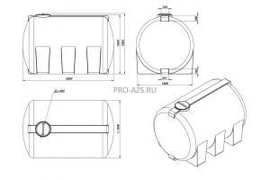 МТП Lite 8000 л. Cube 72 + Filter , 220 V
