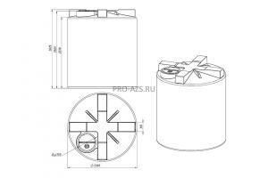 МТП Maxi 10000 л. Cube 56 + Filter, 220 V