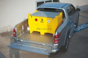 Carrytank 220 бензин, электронасос 12В, 4 м шланг, пистолет-автомат