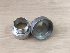 Переходник с 62 мм (мелкая резьба) на наружную резьбу 1 1/2 (алюминиевый)