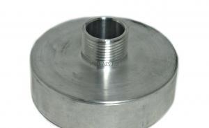 Переходник со 100 мм на наружную резьбу 1 дюйм (алюминиевый)