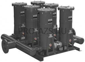 Gespasa FG-1000x2 - Фильтрационная установка, 50 / 15 µm абсорб. - 1000 л/мин