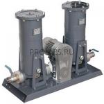 Gespasa FG-300x2 - Мобильная фильтрующая установка с насосом BAG-800 230/400 VAC pump, 50/15 µm c абсорб.