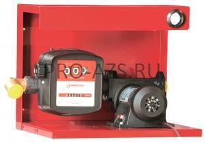 Gespasa S-50 12 VDC + base no. 4 - Комплект для перекачки на металлической пластине №4