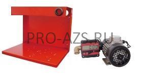 Gespasa SAGE-100 230 VAC + base no. 4 - Комплект для перекачки с электронным счетчиком