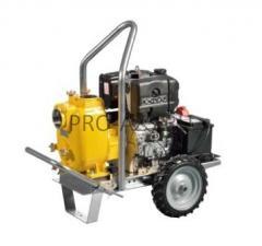 Дизельная грязевая мотопомпа Varisco VAR 4-100 MLD10 G10 TROLLEY