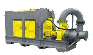 Дизельная мотопомпа для сильно загрязненных вод - ET DS450-3200/33 JD ML