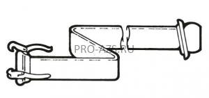 Рукав напорныйс соединительными элементами d=200мм/10м/нап 10013653 (длина 10 метров)