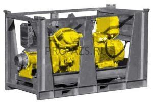 Поверхтностный шламовый насос с электроприводом ET VN100-175/25 E