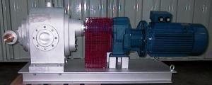 Насос шестеренчатый Fraccarolo - FA/90 - 30/700 300C° (FAM/90)