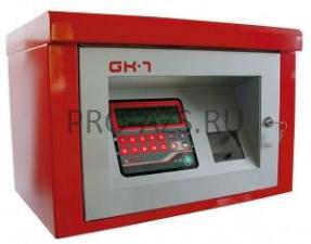 GK-7M-60 users + METALLIC CABINET - Система контроля раздачи топлива в металлическом ящике