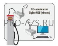 C/S (client-server)комплект подключения ZIGBEE-ETHERNET (wireless)