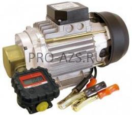 SEA-90 0.37 kW - Шестеренчатый электронасос для смазочных материалов с электронным счетчиком