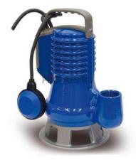 Погружной фекальный насос Zenit DG BLUE 40/2/G40V AOBM/50