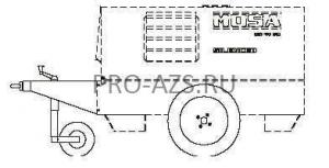 Комплект колес для MOSA TS 350 SD/EL и MOSA TS 400 SC/EL