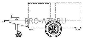 Комплект колес для MOSA TS 415; 615 SL/EL