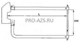 Электрод 12х250мм TECNA 7454