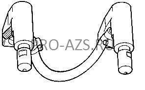 Комплект электрододержателей с электродами 8701 - TECNA 4021