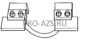 Комплект электрододержателей с электродами для сварки прутка (4075) TECNA 4074