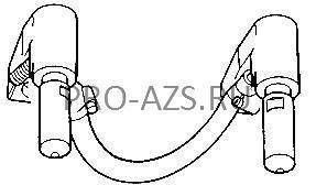 Комплект электрододержателей с электродами 4719 TECNA 4073