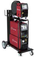 Сварочный полуавтомат инверторный многофункциональный с синергетическим управлением и импульсным режимом Flama MULTIMIG 400 Dual Pulse