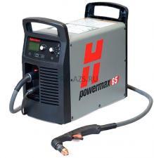 Установка для ручной плазменной резки Hypertherm Powermax 65 без порта CPC, резак75° 7,6 м