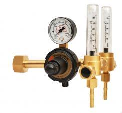 Регулятор AR/CO2, 2 ротаметра CEA_0209165