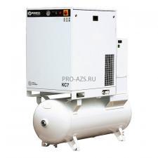 Cпиральный компрессор REMEZA КС7-8-270Д с холодильным осушителем
