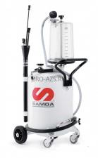 Мобильная установка для откачки отработанного масла 70 л, с предкамерой