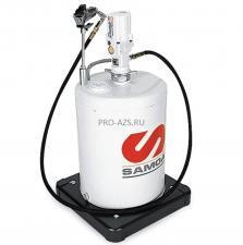 Мобильный пневматический солидолонагнетатель с насосом PM3 с подставкой для бочек макс. 20 кг