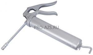 Шприц для консистентной смазки объемом 500 см3 с пистолетной ручкой выпускной шланг 300мм