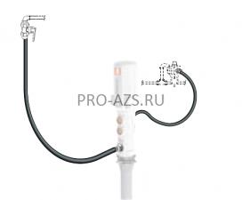 Комплект для откачки масла из бака с насосом PM 2, коэф. сжатия 3:1, монтаж на бак