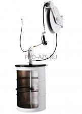 Комплект для раздачи консистентной смазки с насосом PM 3+3 и катушкой для бочек 185 кг