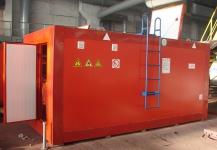 Ведомственная мини азс в контейнере (КАЗС)